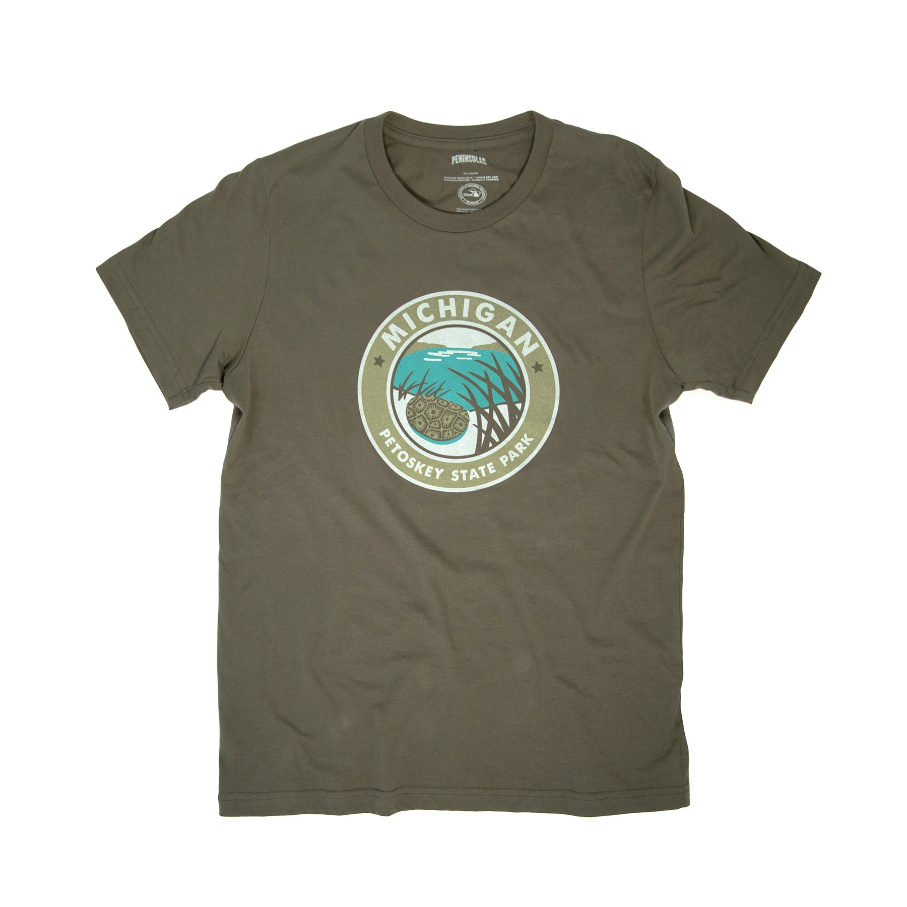 PTW Petoskey State Park T-Shirt - Army