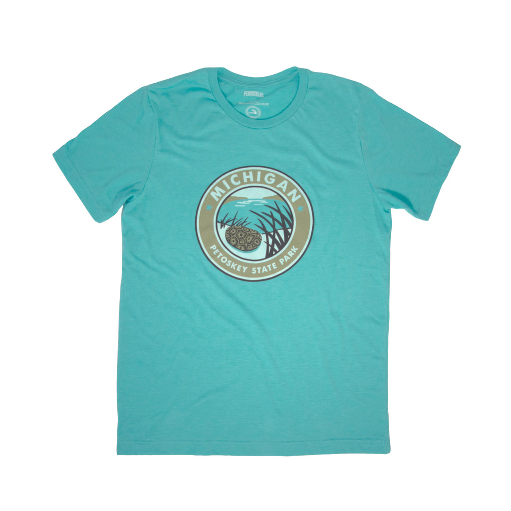 PTW Petoskey State Park T-Shirt - Heather Sea Green