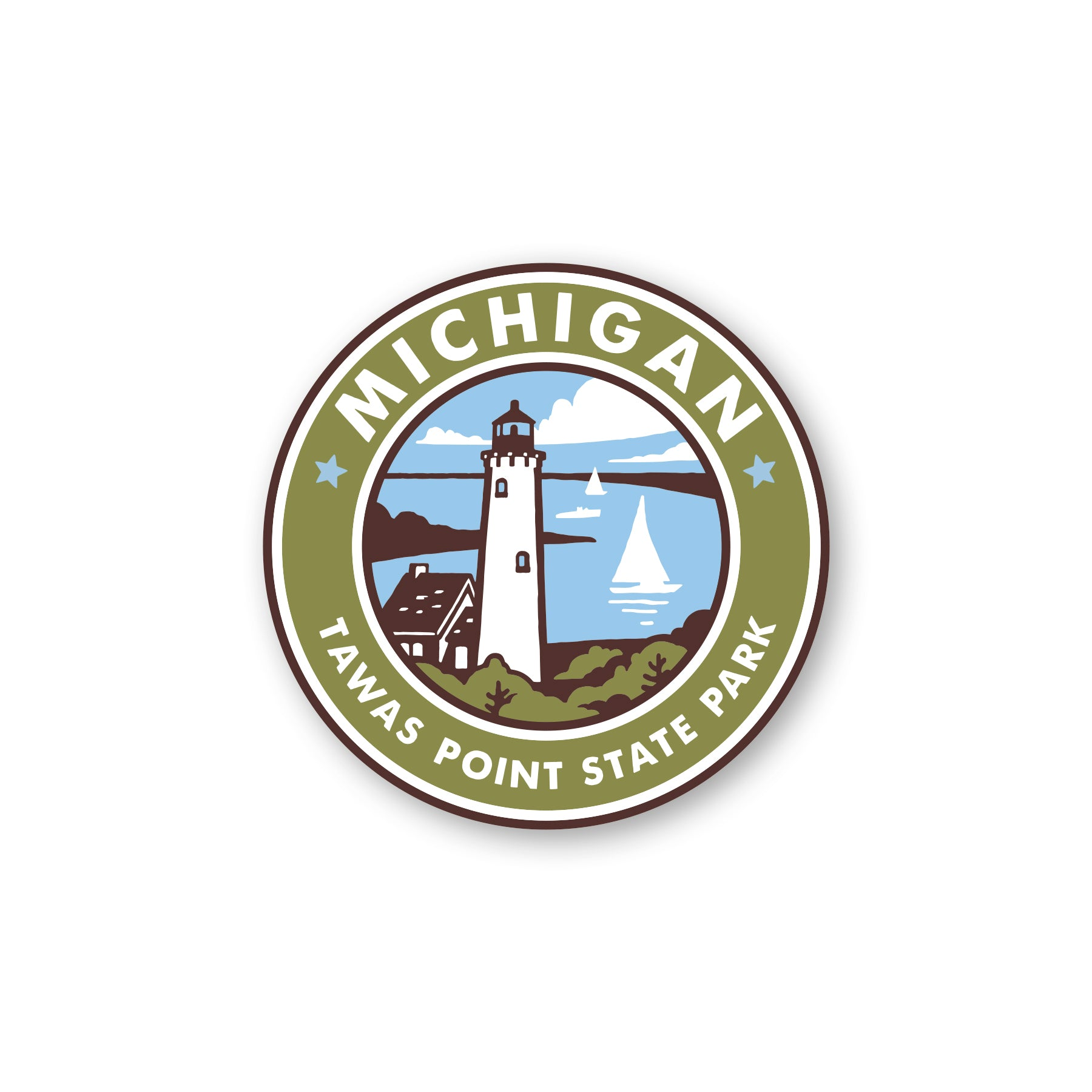 PTW Tawas Point State Park Sticker
