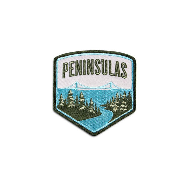 Peninsulas Logo Patch