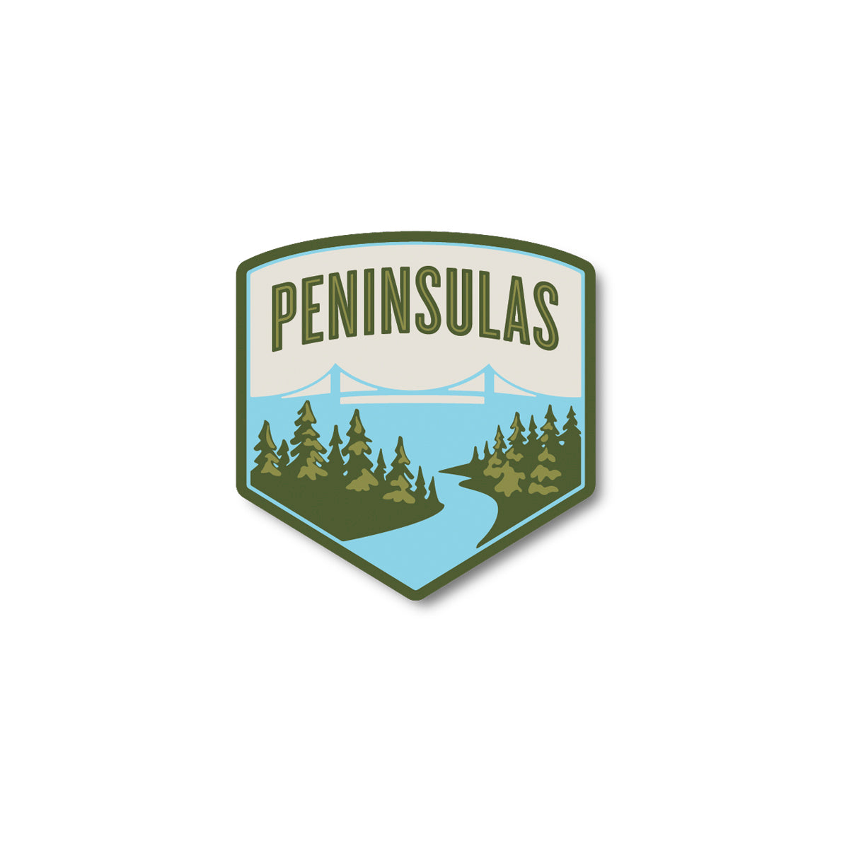 Peninsulas Logo Sticker