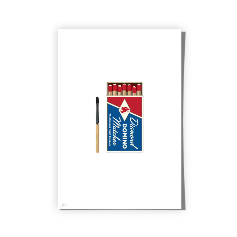 Matches Art Print
