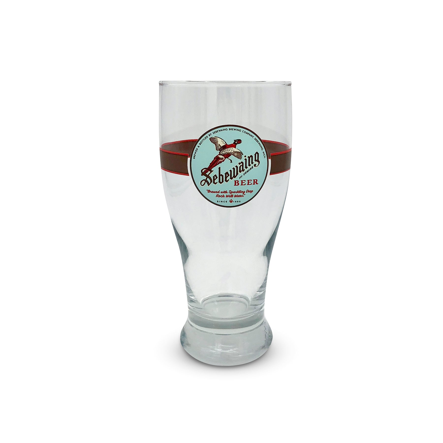 Sebewaing Beer Pint Glass