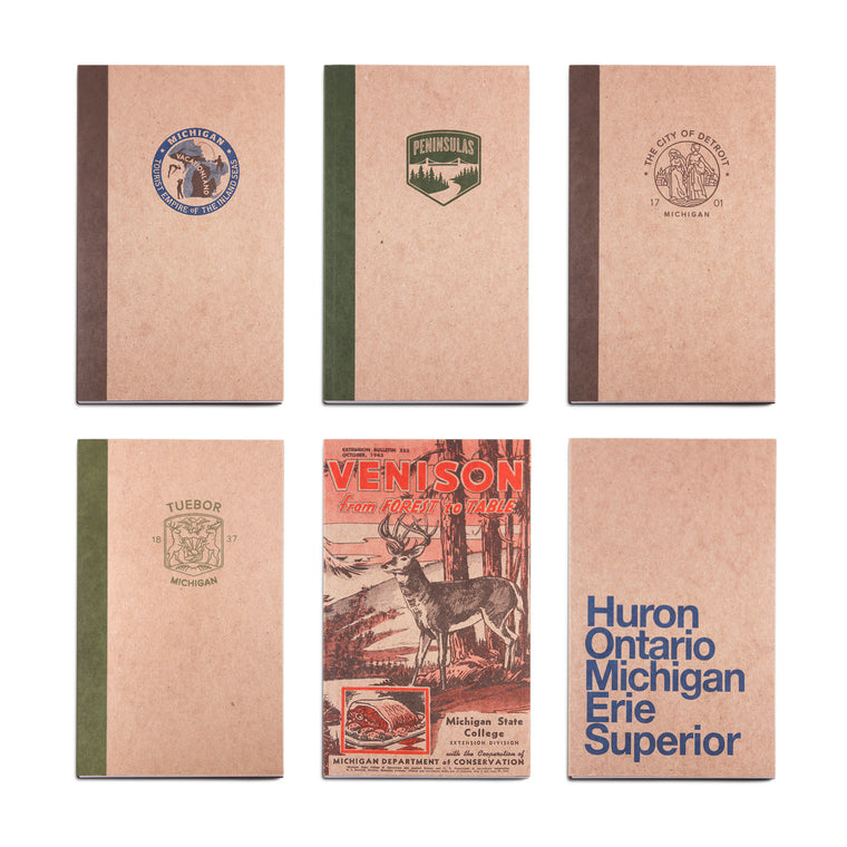 Set of 6 Notebooks