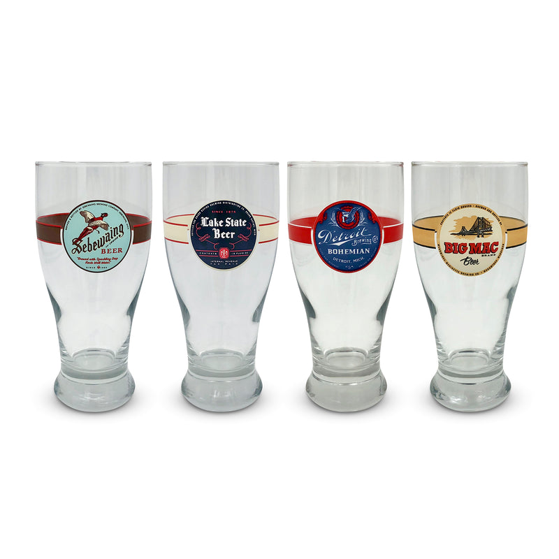 Set of Four Pint Glasses