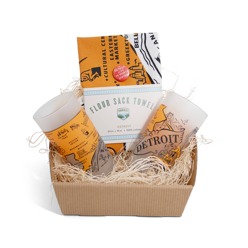 Small Detroit Hosting Gift Set