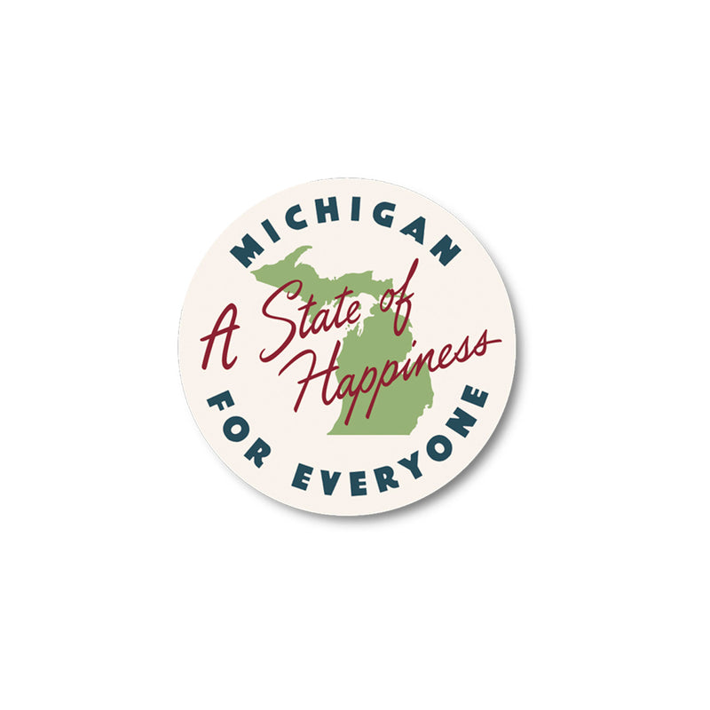 State of Happiness Sticker