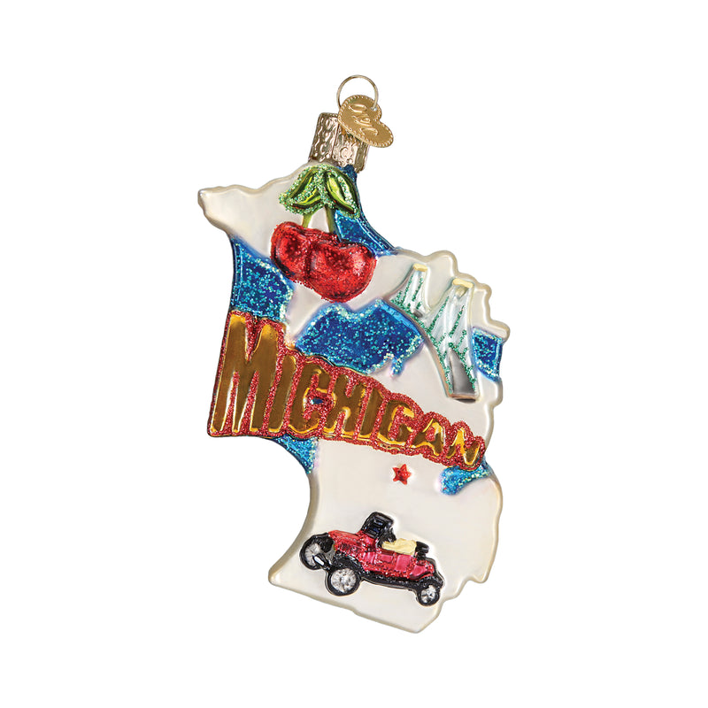 State of Michigan Ornament
