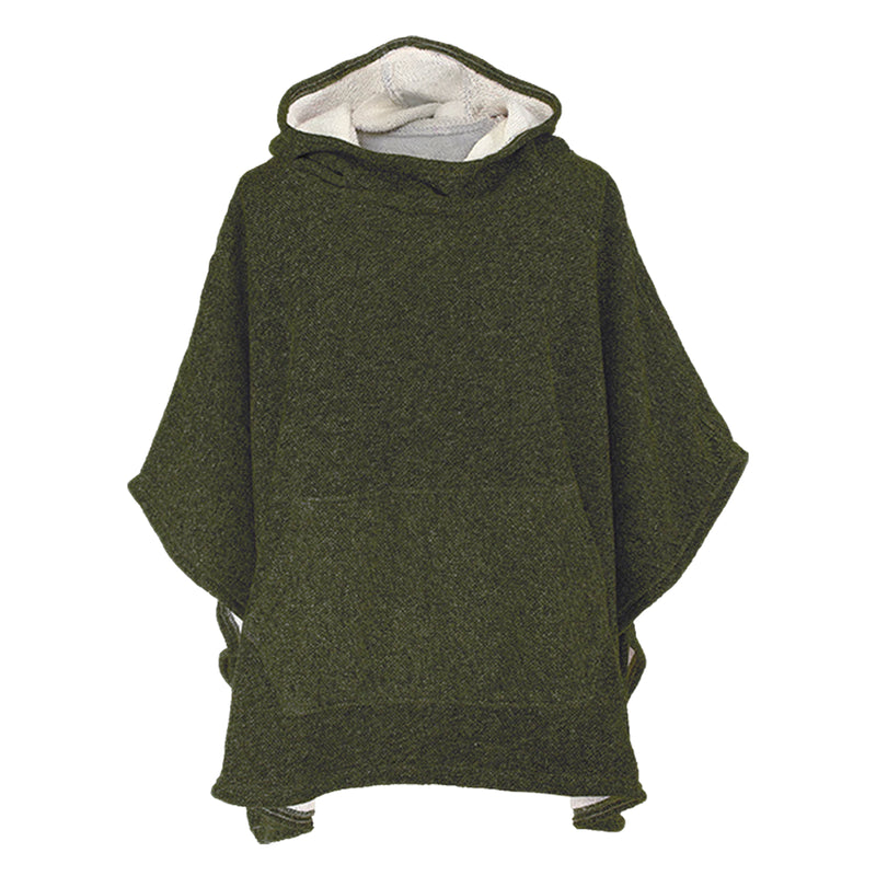Stormy Kromer Adventurer Poncho - Heather Forest