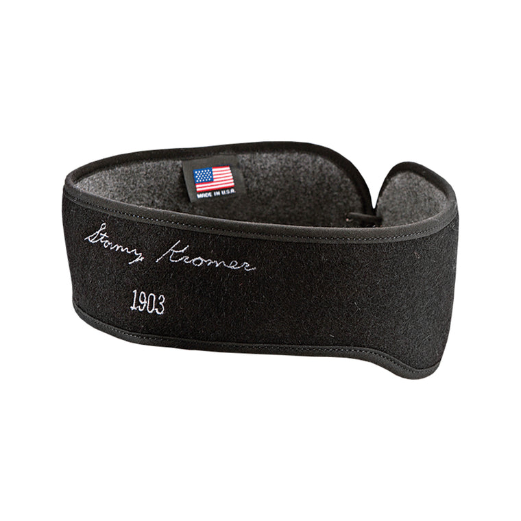 Stormy Kromer Convertible Headband - Black