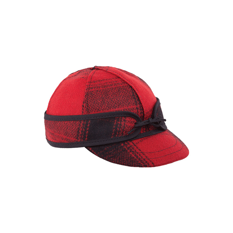 Lil' Kromer Cap - Red & Black Plaid