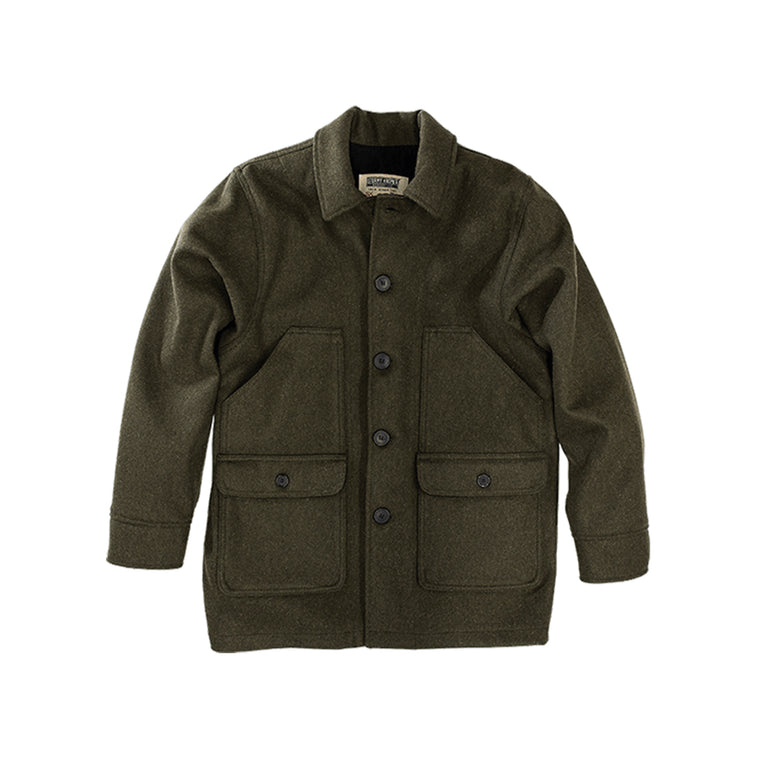 Stormy Kromer Mackinaw Coat - Olive