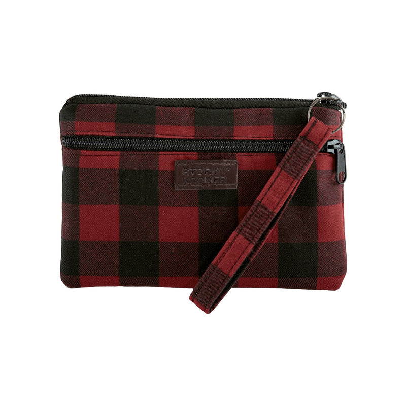 Northwoods Wristlet - Red and Black