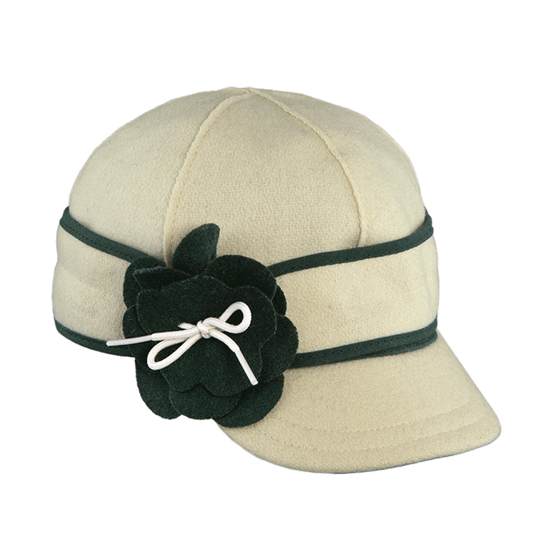 Stormy Kromer Petal Pusher Cap - Green & White