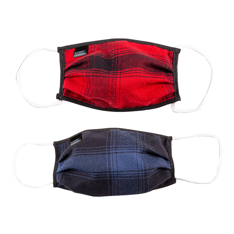 Stormy Kromer Plaid Face Covering / Mask