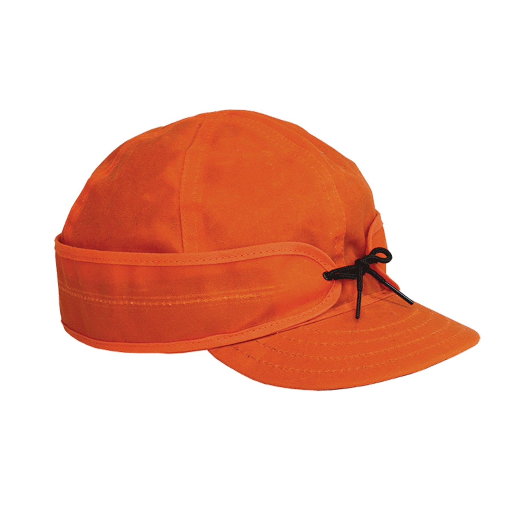 Stormy Kromer Waxed Cotton Cap - Blaze Orange
