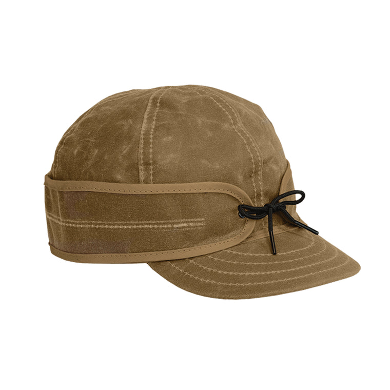 Stormy Kromer Waxed Cotton Cap - Field Tan