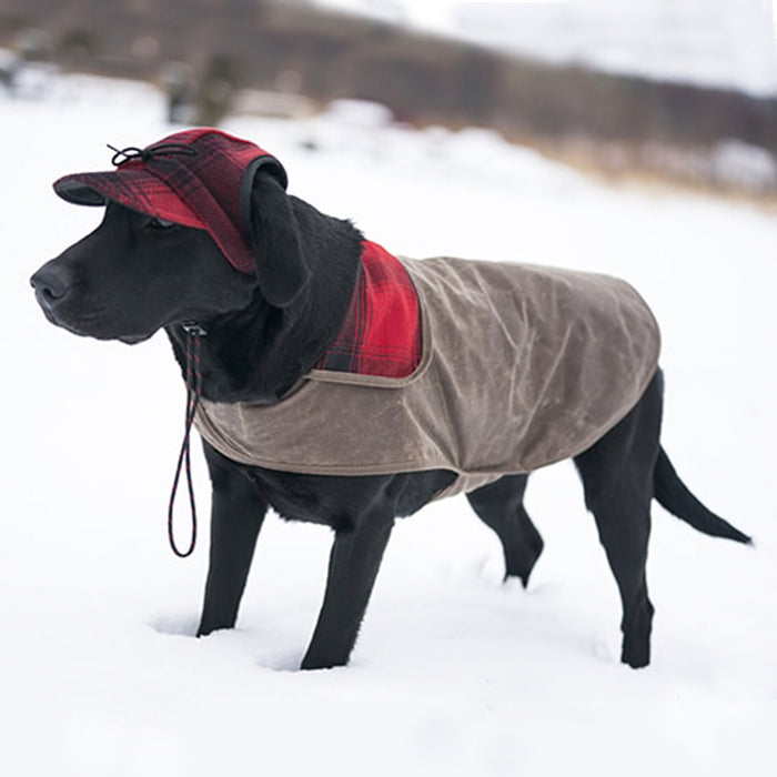 Stormy Kromer Waxed Dog Jacket - Dark Tan