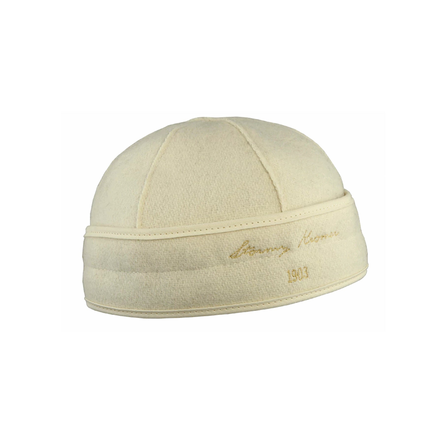 Stormy Kromer Brimless Cap - Winter White