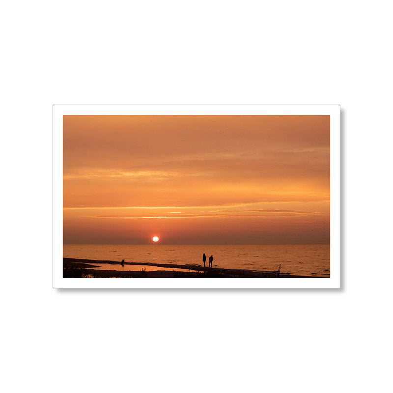 Summer Sunset Postcard