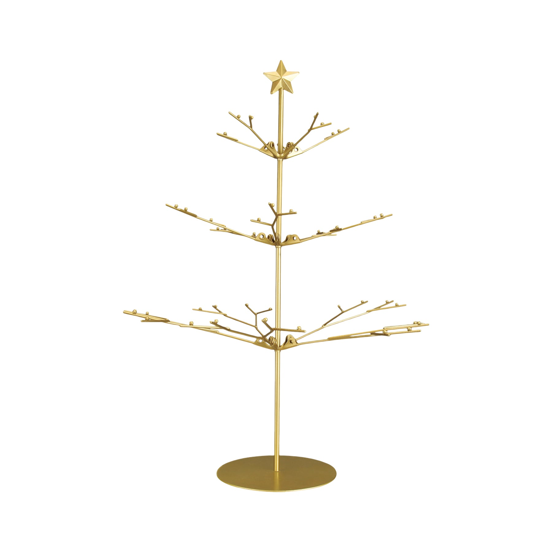 Tabletop Metal Tree Ornament Stand