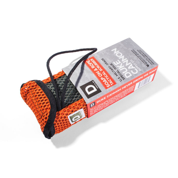 Tactical Soap on a Rope Scrubbing Pouch