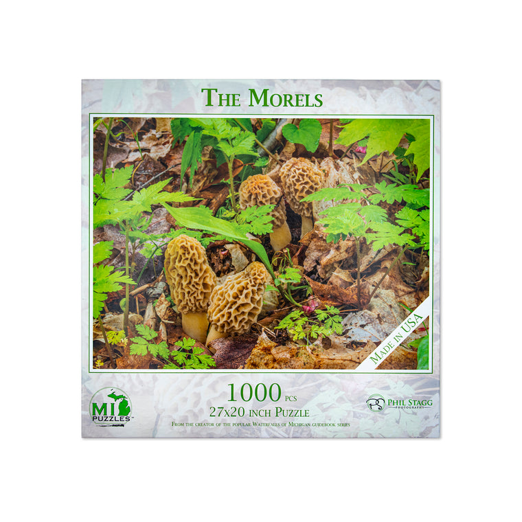 The Morels Puzzle - 1,000 Pieces