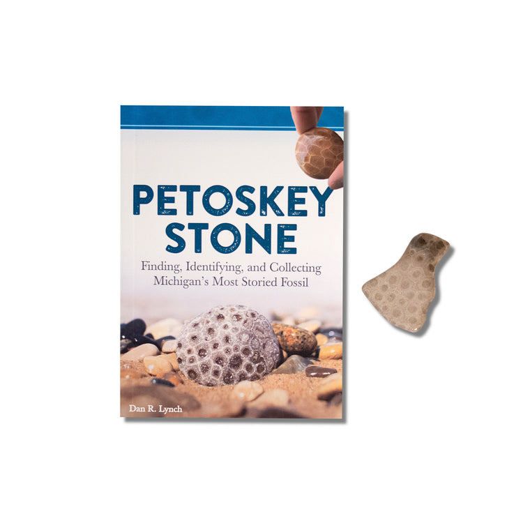 "The Petoskey ""Rock Hunter/Rock Hound"" Book Set"