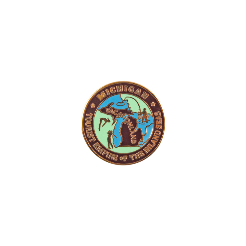 Tourist Empire Enamel Pin
