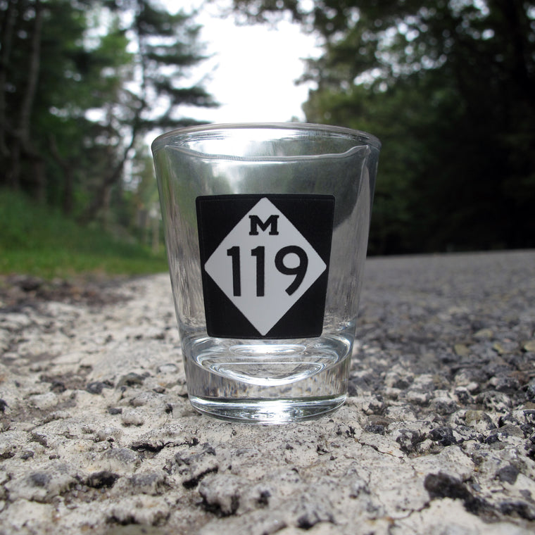 Tunnel of Trees M-119 Shot Glass