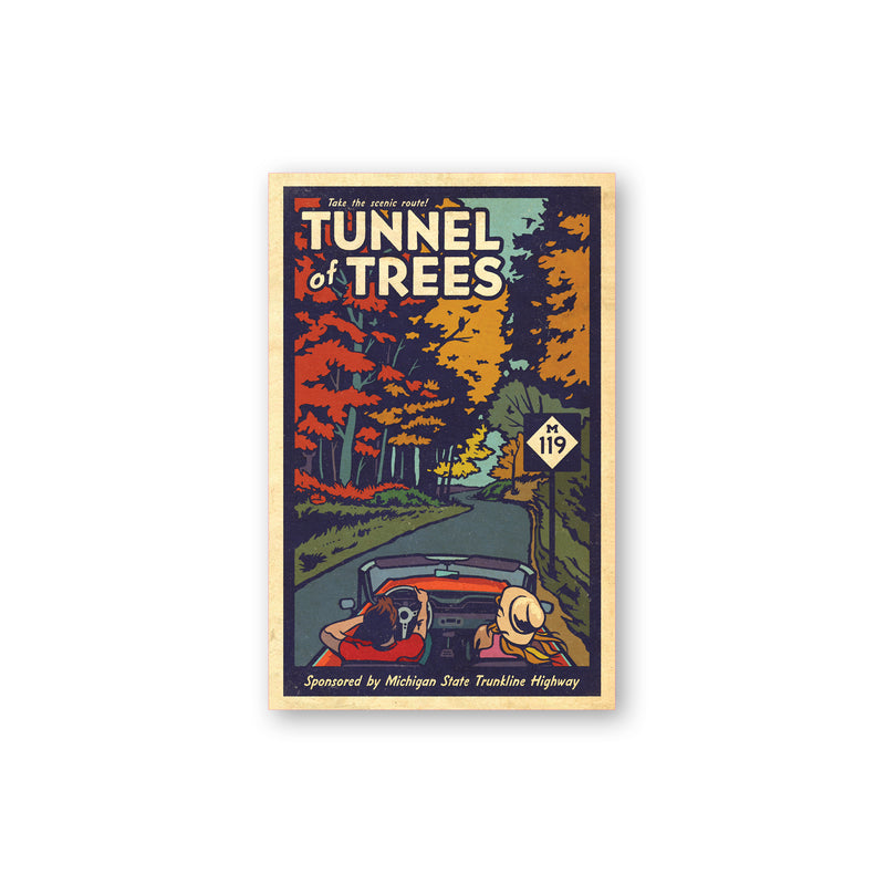 Tunnel of Trees M-119 Convertible Sticker