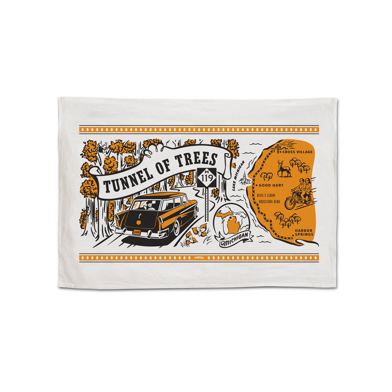 Tunnel of Trees M-119 Flour Sack Towel