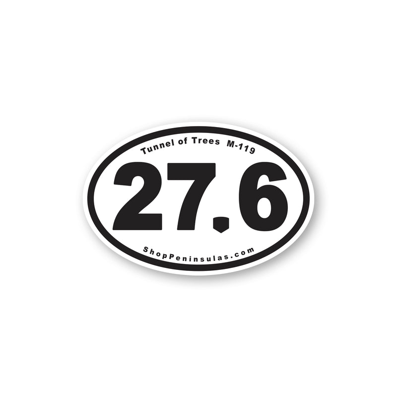 Tunnel of Trees M-119 Mileage Sticker
