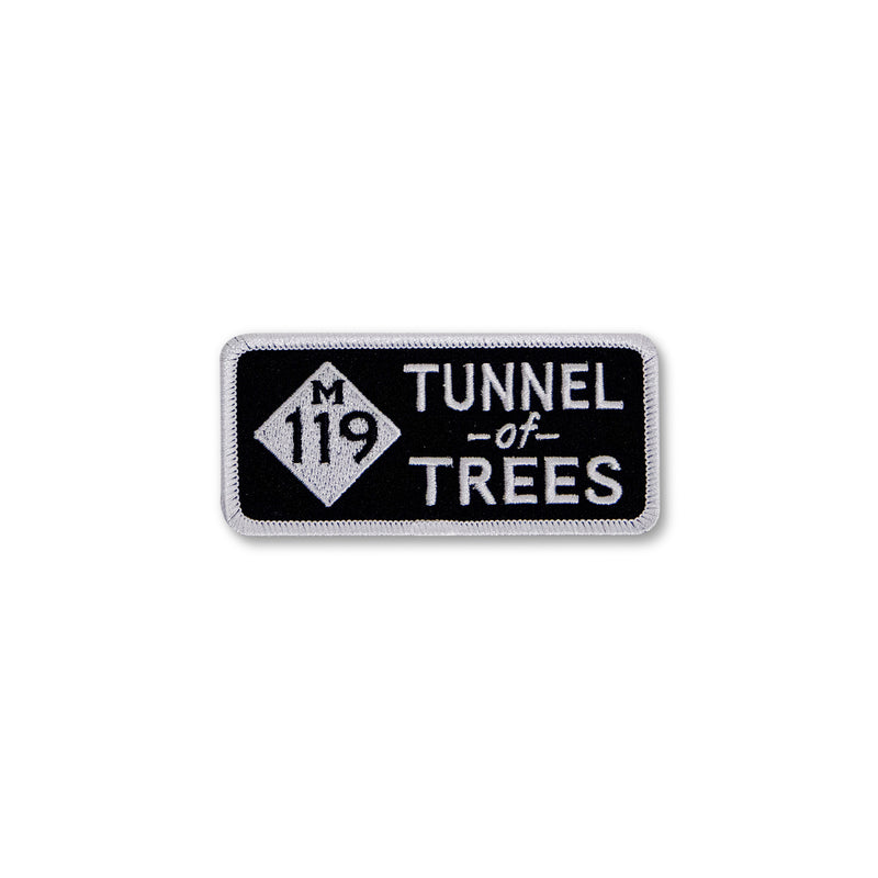 Tunnel of Trees M-119 Motorcycle Tour Patch
