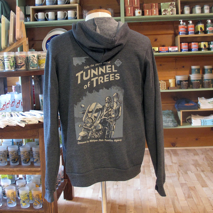 Tunnel of Trees M-119 Scenic Route Full Zip Hoodie