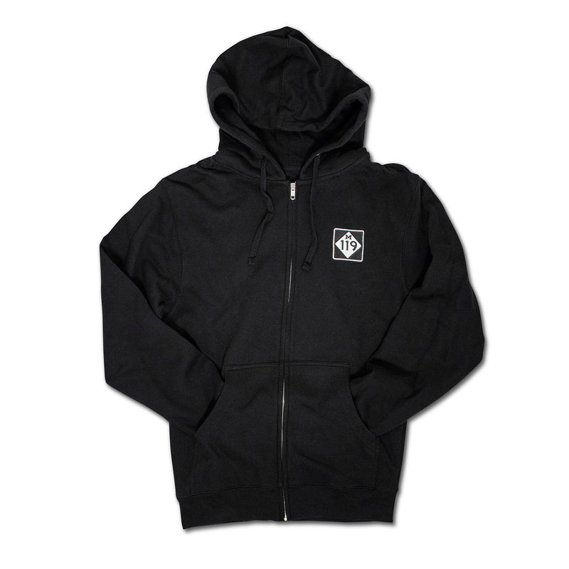 Tunnel of Trees M-119 Zip-up Hoodie