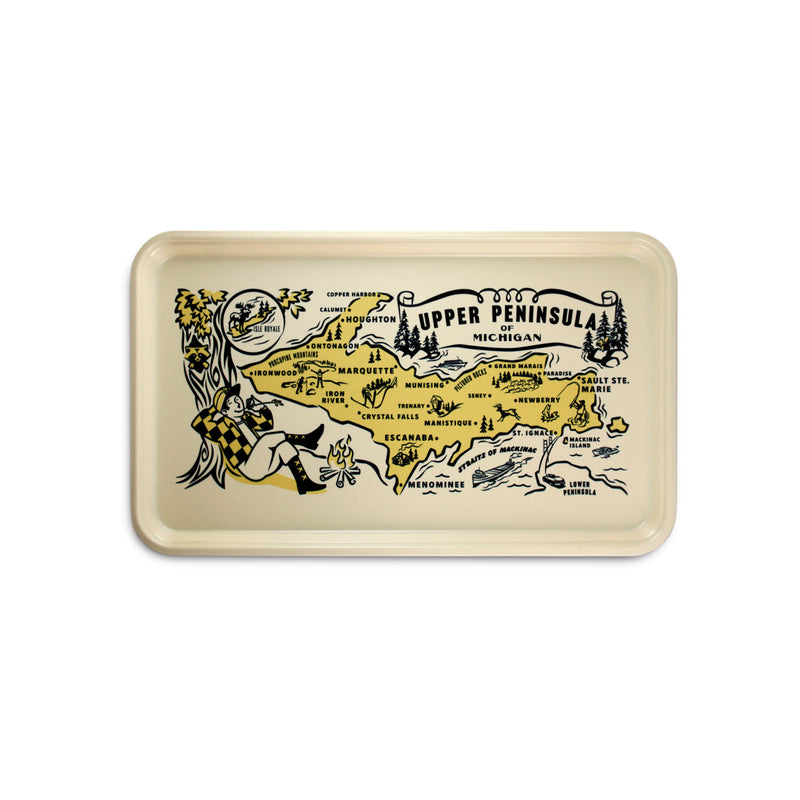 Upper Peninsula Serving Tray