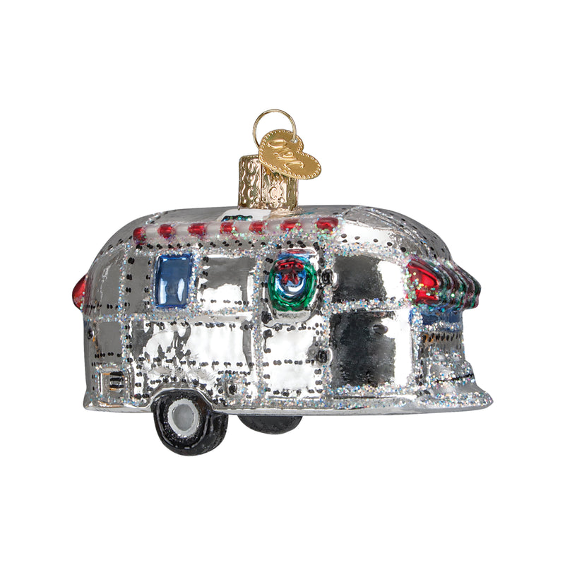 Vintage Airstream Trailer Ornament