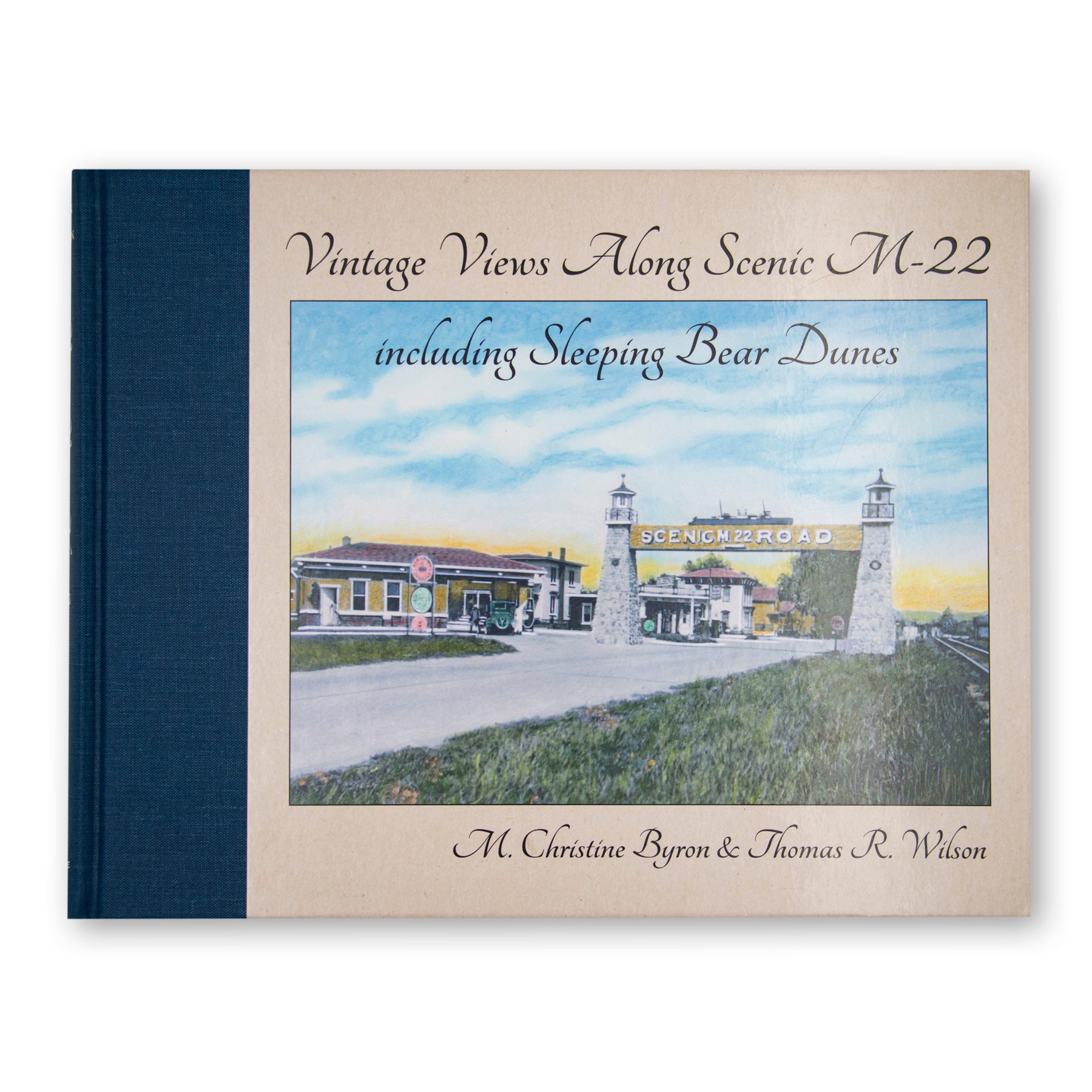 Vintage Views Along Scenic M-22 Book