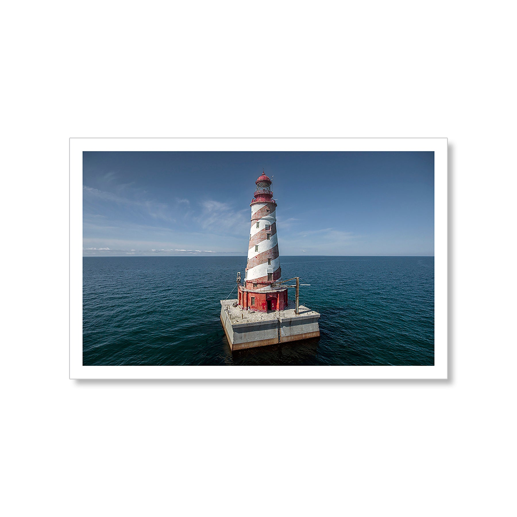 White Shoal Lighthouse Postcard