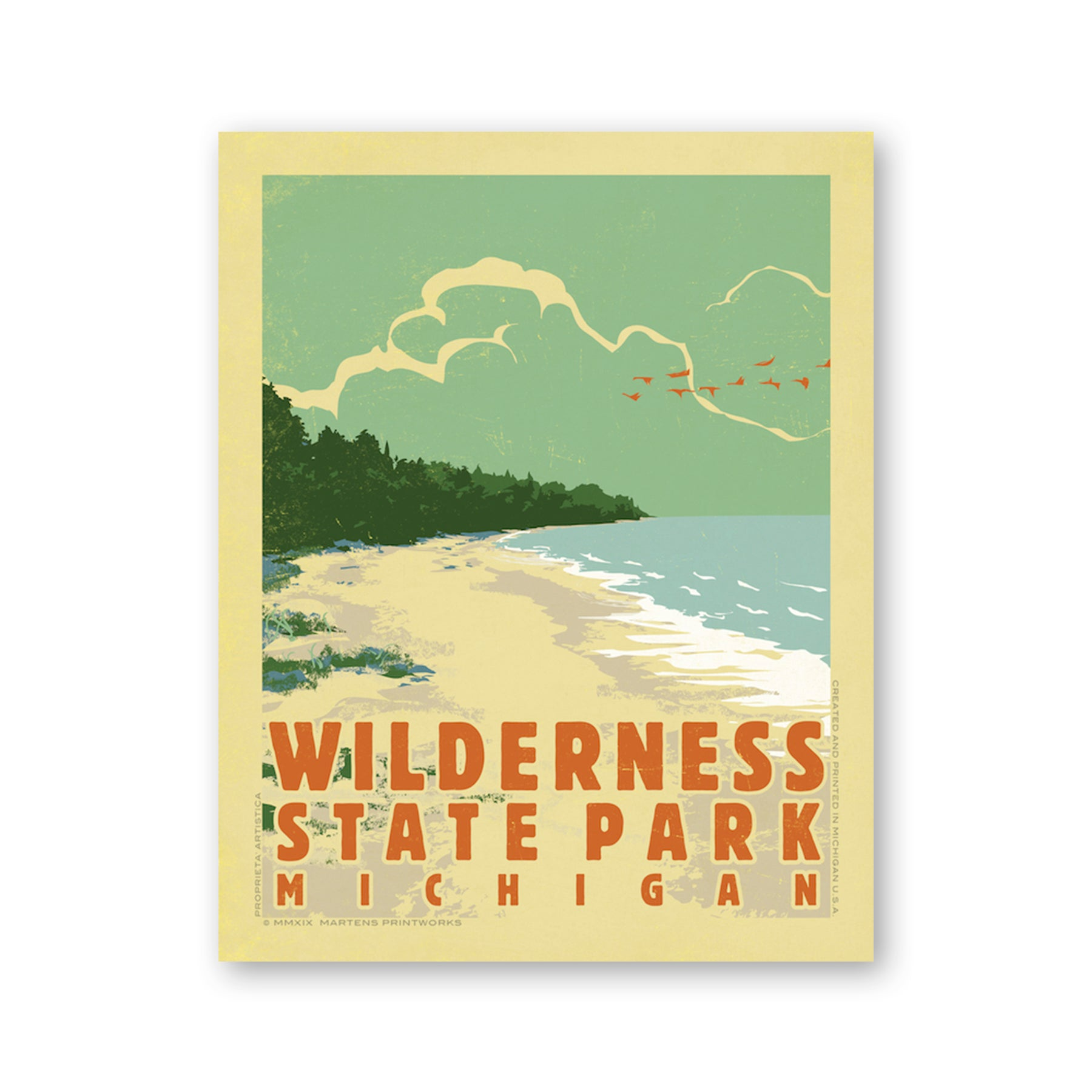 Wilderness State Park Print