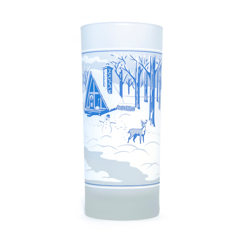 Four Seasons Frosted Glass Set