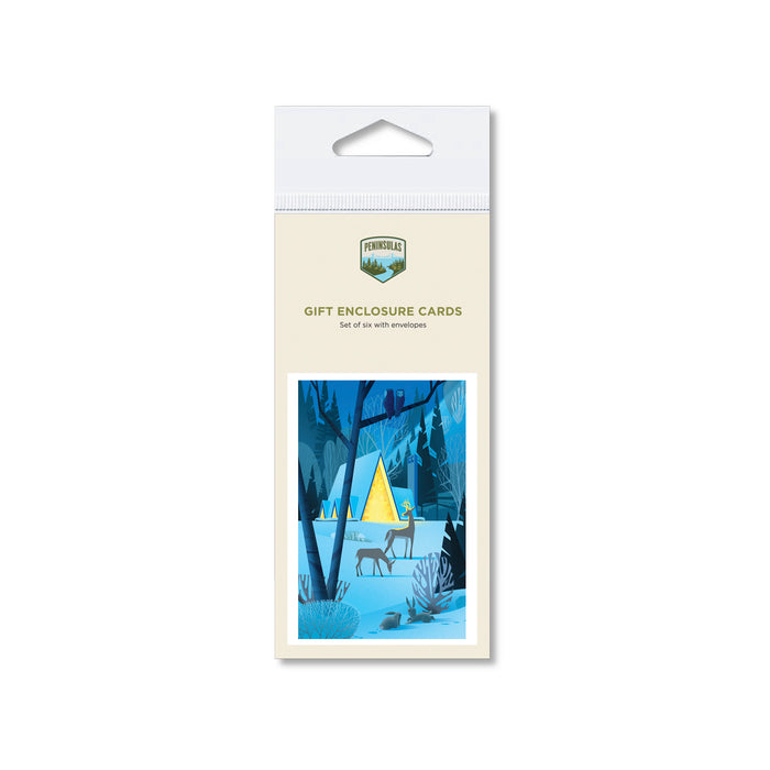 Winter Sanctuary Gift Enclosure Cards