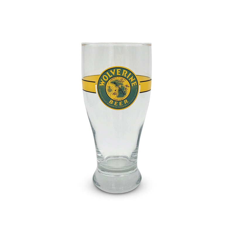 Wolverine Beer Pint Glass