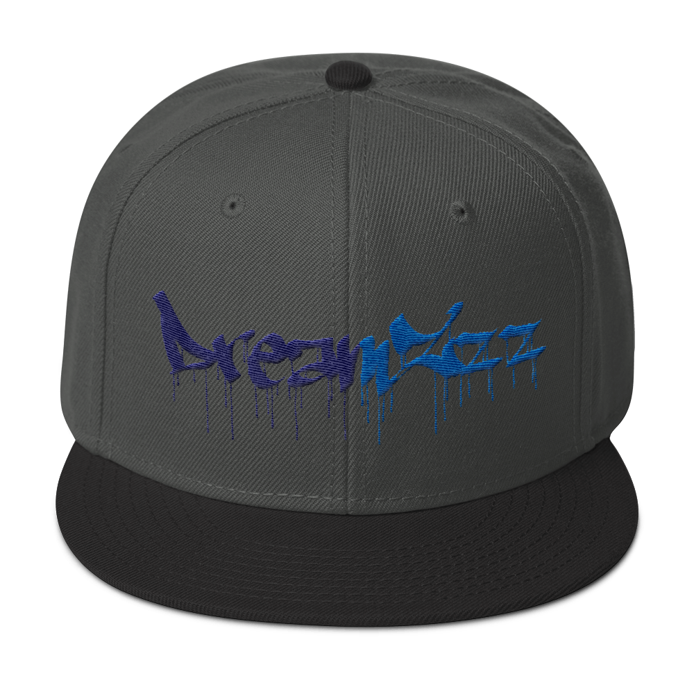 Dreamzzz Snapback Black / Charcoal Gray Hats