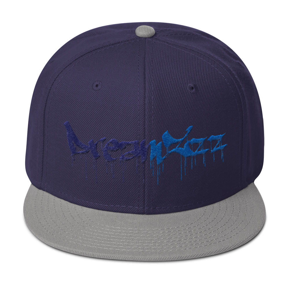 Dreamzzz Snapback Gray / Navy Blue Hats