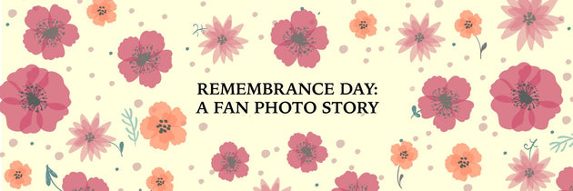 Remembrance Day in Class : A Fan Photo Story