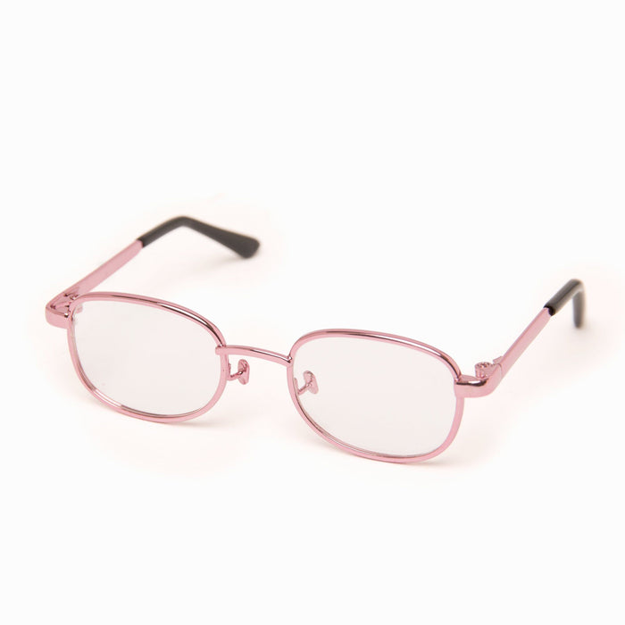 Pink Wire Glasses