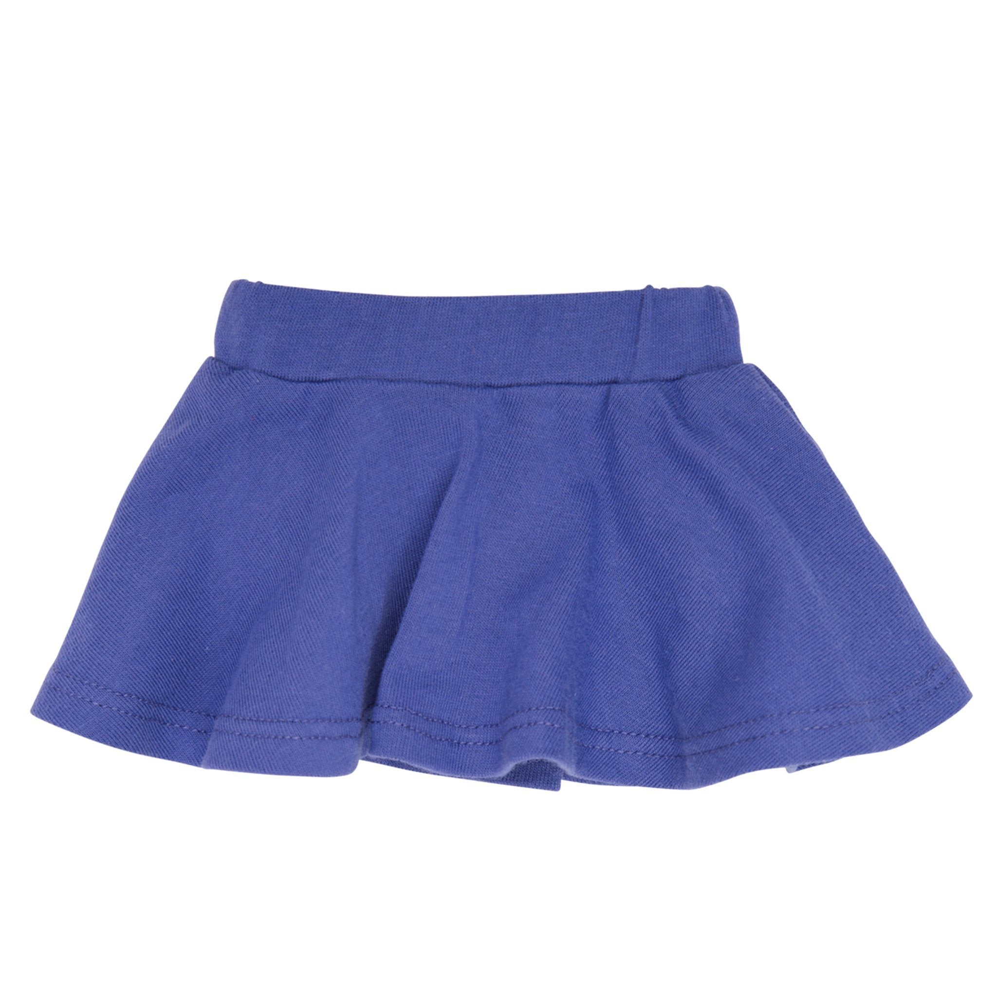 Campus Collection purple skirt fits all 18 inch dolls.