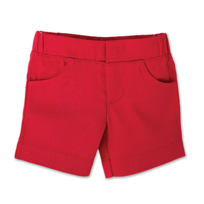 Canada Day Outfit red shorts fits all 18 inch dolls.
